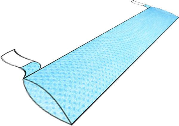 Чехол 120х10см для проводов СМСлам на адгезивных заязках